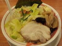 「塩野菜らーめん756円」@らーめん屋 あじとら 行田店の写真
