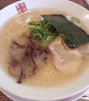 「とんこつラーメン」@博多餃子房 長浜食堂の写真