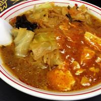 「蒙古タンメン+野菜大盛」@蒙古タンメン 中本 本店の写真