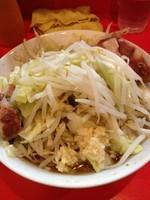 「ラーメン(小)600野菜にんにく少な目」@ラーメン二郎 府中店の写真