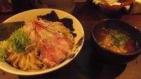 「つけ麺¥750+大盛100円」@麺や 真登の写真