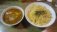 「つけ麺大盛り(850円)+味付玉子(100円)」@藍華の写真