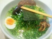 「青ねぎ塩ラーメン(680円)」@中華食酒館 嵐の写真