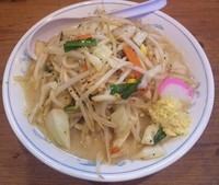 「野菜たっぷりタンメン:640円」@東京タンメン トナリ 高田馬場店の写真