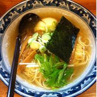 「味玉らぁめん(塩)」@○屋製麺店の写真