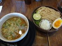 「鶏魚介つけ麺」@麺心 よし田の写真