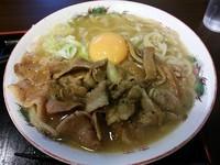 「信州肉玉らーめん」@麺屋 龍王の写真