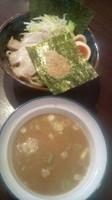 「濃厚特製とんこつ魚介つけ麺」@吟家 茂原店の写真