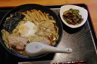 「和風らーめん」@とんかつと家庭料理の店 こしじの写真