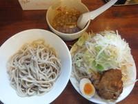 「つけ麺680円(クーポンで500円)野菜マシ」@喝力屋の写真