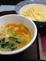 「5月限定 カレーつけ麺750円スープおかわり無料」@麺屋まるの写真