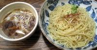 「鴨肉のつけ麺¥850」@源八ラーメンの写真