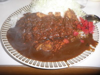 「カツカレー(680円)ご飯少なめ」@キッチン南海の写真
