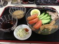 「冷やし茶ラーメン(つけ麺)、780円」@まぁちゃん拉麺の写真