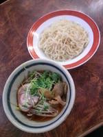 「つけ麺(焼売セット)700円」@軽食 南風の写真