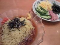 「黒酢しょうゆ冷し麺¥490」@日高屋 関内伊勢佐木モール店の写真