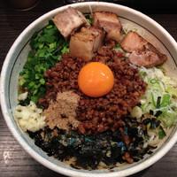 「ど肉台湾まぜそば(大盛)」@濃厚担々麺 はなび 蟹江店の写真