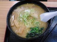 「信州味噌ラーメン680円」@東部湯の丸サービスエリア(上)の写真