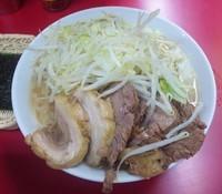 「【限定】 塩ラーメン:700円+豚増し:100円」@ラーメン二郎 西台駅前店の写真