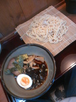 「つけ麺500円」@めん亭 栄の写真