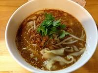 「坦々刀削麺」@刀削麺荘 唐家 錦糸町店の写真