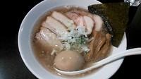 「特製肉煮干らーめん」@音麺酒家 楽々の写真