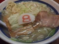 「Aセット(塩)(861円)」@8番らーめん 本店の写真