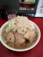「ラーメン ニンニクアブラ 650円」@ラーメン 豚魂の写真