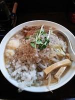 「超濃厚煮干中華そば」@つけ麺 らーめん 研究所の写真