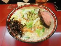 「タンメン¥700円(大盛無料)+チャーシュー1枚¥100円」@中華そば 華丸の写真
