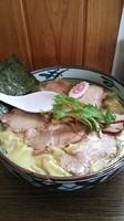 「チャーシューワンタン麺 塩 ワンタンダブル」@手打ち中華そば 凌駕の写真