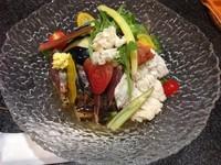 「涼三 魚冷し (1,000円)」@烈志笑魚油 麺香房 三くの写真