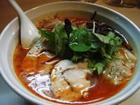 「【限定】トマトの酸棘湯麺700円」@桜台らぁ麺 美志満の写真