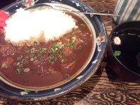 「牛すじカレー600円」@東京牛丼 牛の力の写真