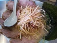「ネギチャーシュー麺  850円」@ラーメンショップ 椿 玉造店の写真