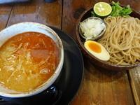 「辛味噌つけ麺」@麺心 よし田の写真