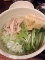 「究極の鶏そば(ハーフ)400円」@餃子酒場 大田屋の写真
