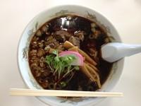 「馬肉ラーメン」@二ツ井道の駅 レストランの写真