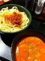 「ごま辛つけ麺」@だるまのめ 本厚木店の写真