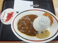 「富士山カレー700円(世界遺産登録記念期間限定500円)」@道の駅富士 上り線食堂の写真