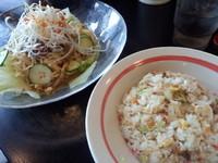 「冷し担担麺チャーハンセット892円」@幸楽苑 戸田店の写真