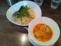 「坦坦つけ麺+大盛り (850円+100円)」@創作麺工房 鳴龍の写真