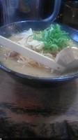 「味噌+ネギ」@無双 赤坂店の写真