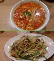 「トマトチーズタンタンメン中辛 ¥850」@杏華埜の写真