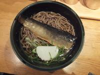 「にしんそば500円」@麺家 京都上がも店の写真