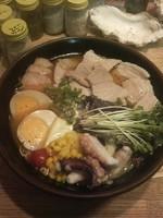 「豚蛸足ラーメン700円」@肥後っ子 大石家の写真