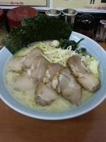 「塩ネギチャーシューメン大盛り(麺硬め)1150円」@壱七家 厚木店の写真