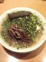 「ねぎちゃーしゅーめん(麺硬め)950円」@博多長浜らーめん いっきの写真