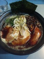 「マー油正油3枚チャーシュー入り大盛り(麺硬め)900円」@麺屋 弐重まるの写真