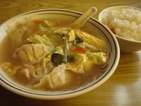 「スープ餃子ライス 【850円】」@餃子の王さまの写真